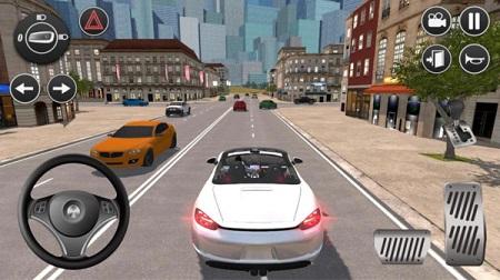 美国高速驾驶模拟器中文版